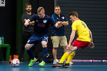 BRISBANE, AUSTRALIA - JUNE11:  during the friendly futsal match between South Brisbane and Vic Vipers on June 11, 2017 in Brisbane, Australia. (Photo by Patrick Leigh Perspectives)