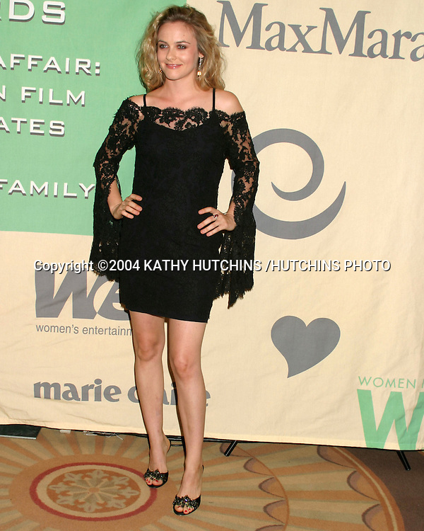 "©2004 KATHY HUTCHINS /HUTCHINS PHOTO.""A FAMILY AFFAIR: WOMEN IN FILM CELEBRATES THE PALTROW FAMILY""  .2004 CRYSTAL & LUCY AWARDS.CENTURY CITY, CA.JUNE 18, 2004..ALICIA SILVERSTONE"