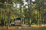 State Park Campground with large RV .