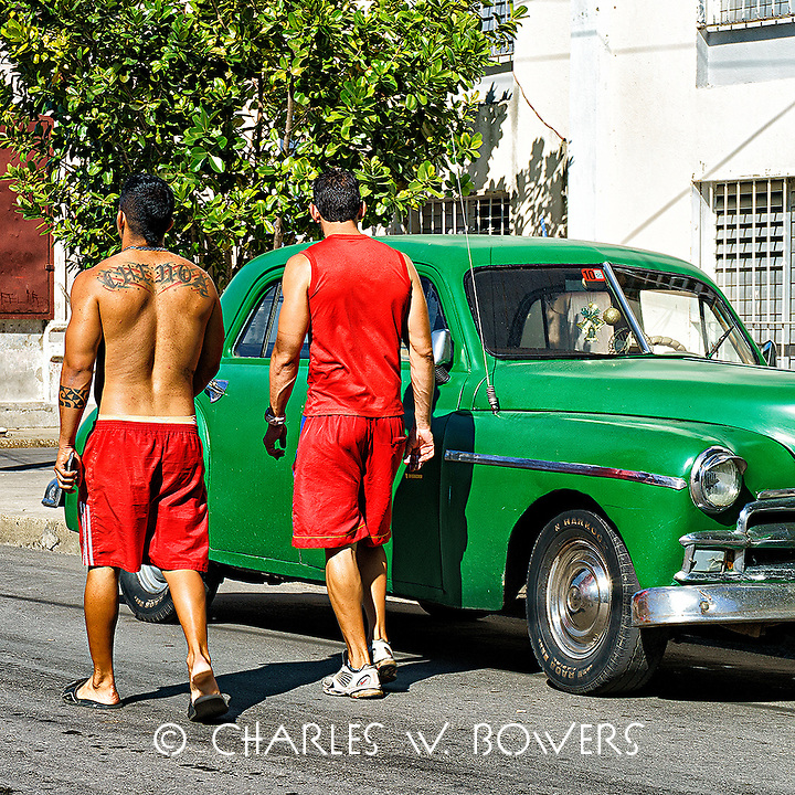 Faces Of Cuba - Teenage boys being teenage boys.<br />