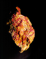 ORPIMENT (As2S3)/REALGAR (As4S4)<br /> Arsenic trisulfide minerals<br /> Orpiment is yellow &amp; Realgar is red.