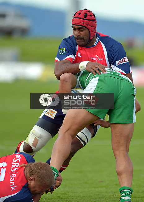 Tasman Makos v Manawatu, ITM Cup, Lansdowne Park, Blenheim, New Zealand, 13 October 2013, Photos: Barry Whitnall/shuttersport.co.nz