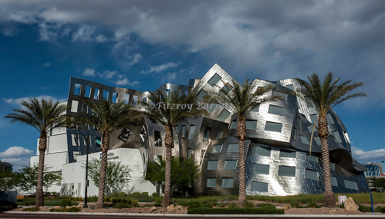 Cleveland Clinic  Center For Brain Health building in Las Vegas by Architect Frank Gehry August 17, 2013. ©Fitzroy Barrett