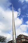 Spire of Dublin, also the Monument of Light, O'Connell Street, Dublin, Ireland, 120 metres high, Ian Ritchie Architects, 2003