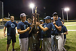 June 26, 2017- Tuscola, IL- Tuscola Rotary receive their first place trophy after defeating Philo 4-0 to win the East Central Illinois Little League championship. [Photo: Douglas Cottle]
