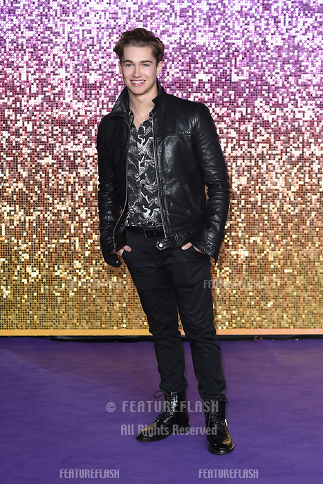 LONDON, UK. October 23, 2018: AJ Pirtchard at the world premiere of &quot;Bohemian Rhapsody&quot; at Wembley Arena, London.<br /> Picture: Steve Vas/Featureflash