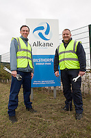 Graeme Horn (left) and Jon Finch of Alkane