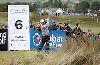 Sunday 31st May 2015; Padraig Harrington, Ireland, on the 6th tee box<br /> <br /> Dubai Duty Free Irish Open Golf Championship 2015, Round 4 County Down Golf Club, Co. Down. Picture credit: John Dickson / DICKSONDIGITAL