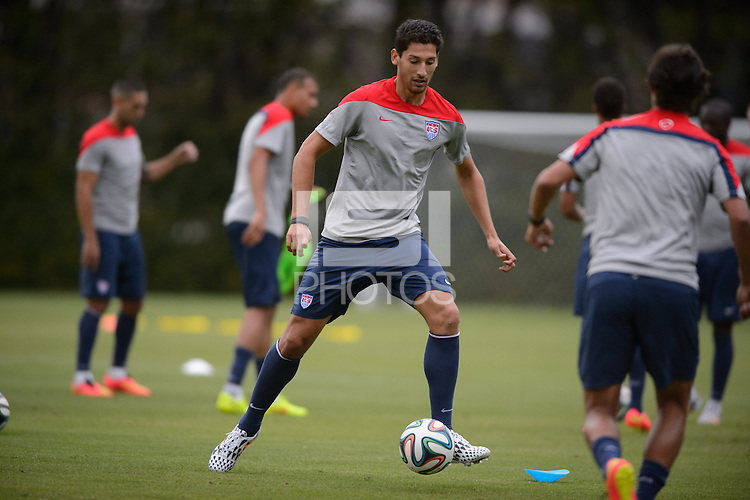 Sao Paulo, Brazil - Monday, June 9, 2014: USMNT training at Sao Paulo FC.