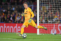 FOOTBALL: FC Barcelone vs SK Slavia Praha - Champions League - 05/11/2019<br /> Marc Andre Ter Stegen<br /> <br /> <br /> Barcellona 5-11-2019 Camp Nou <br /> Barcelona - Slavia Praga <br /> Champions League 2019/2020<br /> Foto Paco Largo / Panoramic / Insidefoto <br /> Italy Only