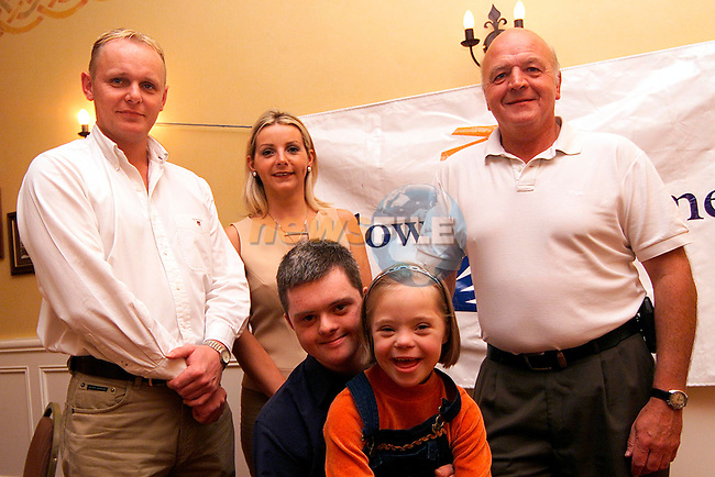 Aidan Rice, Paula Finnegan, Phil McLoughlin, David Clarke and Niamh Flannery in the Westcourt Hotel for the launch of the Children of Lir Ball..Picture: Paul Mohan/Newsfile