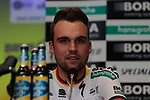 German Champion Max Schachmann (GER) Bora Hansgrohe at the team press conference before the 2019 Tour de France starting in Brussels, Belgium. 5th July 2019<br /> Picture: Colin Flockton | Cyclefile<br /> All photos usage must carry mandatory copyright credit (© Cyclefile | Colin Flockton)