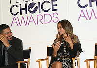 BEVERLY HILLS, CA - NOVEMBER 15: Wilmer Valderrama, Jamie Chung attend the People's Choice Awards Nominations Press Conference at The Paley Center for Media on November 15, 2016 in Beverly Hills, California. (Credit: Parisa Afsahi/MediaPunch).