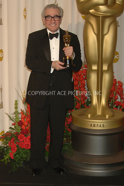 in the press room at the 79th Annual Academy Awards held at the Kodak Theatre in Hollywood, CA, February 25th, 2007. Dennis Van Tine