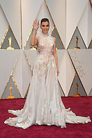 www.acepixs.com<br /> <br /> February 26 2017, Hollywood CA<br /> <br /> Hailee Steinfeld arriving at the 89th Annual Academy Awards at Hollywood &amp; Highland Center on February 26, 2017 in Hollywood, California.<br /> <br /> By Line: Z17/ACE Pictures<br /> <br /> <br /> ACE Pictures Inc<br /> Tel: 6467670430<br /> Email: info@acepixs.com<br /> www.acepixs.com