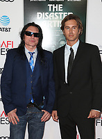 HOLLYWOOD, CA - NOVEMBER 12: Tommy Wiseau, Greg Sestero, at the AFI Fest 2017 Centerpiece Gala Presentation of The Disaster Artist on November 12, 2017 at the TCL Chinese Theatre in Hollywood, California. Credit: Faye Sadou/MediaPunch /NortePhoto.com