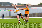 Daithi Casey Dr Crokes goes past Conor Jordan Stacks during their County Championship clash in Fitzgerald Stadium on sunday