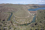 The Crooked River earns its name below the Arthur R. Bowman Dam, Oregon.
