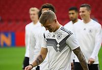 Toni Kroos (Deutschland Germany) - 12.10.2018: Abschlusstraining der Deutschen Nationalmannschaft vor dem UEFA Nations League Spiel gegen die Niederlande