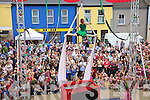 Sorclluba Aerial Show performed to a huge crowed at the festival stage in Cahersiveen on Sunday at the Celtic Music Festival in Cahersiveen.