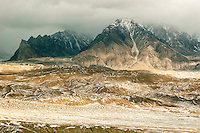 On China's western border four of the world's great mountain ranges converge to form the Pamir Highland. The Pamir Mountains are formed by the junction the Himalayas, Tian Shan, Karakoram, Kunlun, and Hindu Kush ranges and can be seen along the Karakoram Highway that connects Kashgar to Islamabad..