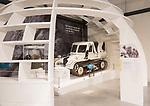 ST4 AKTIV SNOW-TRAC vehicle, REME museum, MOD Lyneham, Wiltshire, England, UK