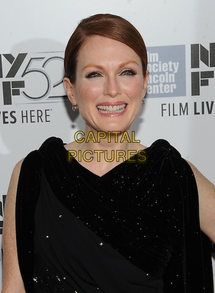 September 27, 2014:Julianne Moore attends the 2014 New York Film Festival screening of Maps To The Stars on September 27, 2014 at Alice Tully Hall In New York City.   <br /> CAP/MPI/RTN/STE<br /> &copy;RTNStevens/MediaPunch/Capital Pictures