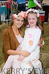 Denise O'Connor and Alyson Hickey at Kilflynn Enchanted Fairy Festival on Sunday