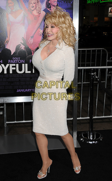 "Dolly Parton.""Joyful Noise"" Los Angeles Premiere held at Grauman's Chinese Theatre, Hollywood, California, USA..January 9th, 2012.full length white dress.CAP/ROT/TM.©Tony Michaels/Roth Stock/Capital Pictures"