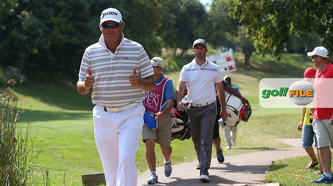 The Journey gets better; Wallie Coetsee (RSA) cards a 68 and a share of the clubhouse lead during Round Three of the Tshwane Open 2015 at the Pretoria Country Club, Waterkloof, Pretoria, South Africa. Picture:  David Lloyd / www.golffile.ie. 14/03/2015