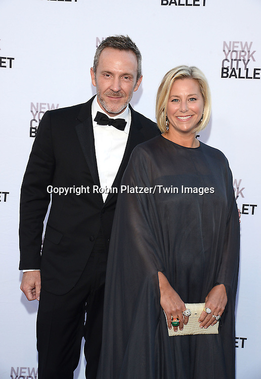Tre Laird and Jenny Laird  attends the New York City Ballet's 3rd Annual  Fall Fashion Gala on September 23, 2014 at David Koch Theatre in Lincoln Center in New York City. <br /> <br /> photo by Robin Platzer/Twin Images<br />  <br /> phone number 212-935-0770