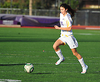 Amador Valley High School Freshmen girls battle Foothill High in Pleasanton Friday Feb. 12, 2016. Amador won 3-0 with a season ending victory. (Photo by Alan Greth)