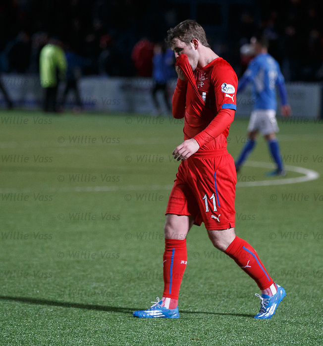 Dejection from Rangers David Templeton