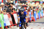 Zdenek Stybar (CZE) Deceuninck-Quick Step crosses the finish line at the end of Stage 2 of La Vuelta 2019 running 199.6km from Benidorm to Calpe, Spain. 25th August 2019.<br /> Picture: Eoin Clarke | Cyclefile<br /> <br /> All photos usage must carry mandatory copyright credit (© Cyclefile | Eoin Clarke)