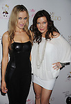 "HOLLYWOOD, CA. - August 10: Paula LaBaredas and Holly Fields arrive at Paris Hilton And Friends Celebrate ""Tease"" Fragrance Launch at My Studio Nightclub on August 10, 2010 in Hollywood, California.  ."