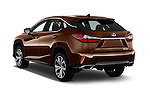 Car pictures of rear three quarter view of 2018 Lexus RX 350 5 Door SUV Angular Rear
