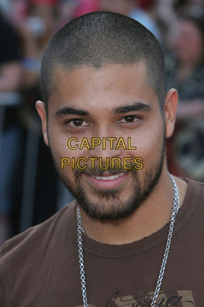 "WILMER VALDERAMMA.""Pirates Of The Caribbean: At World's End"" World Premiere held at Disneyland, Anaheim, California, USA,.19 May 2007..portrait headshot.CAP/ADM/CH.©Charles Harris/AdMedia/Capital Pictures."