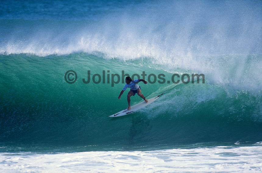 Tom Carroll (AUS) Kirra 1992. Photo:  joliphotos.com