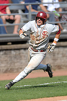 OF Tyler Holt of the FSU Seminoles vs Boston College at Shea Field April 7, 2010 in Chestnut Hill, MA (Photo by Ken Babbitt/Four Seam Images)