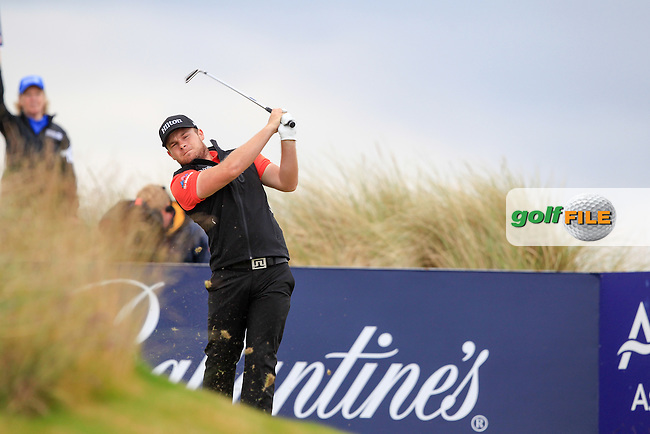 Terrell Hatton (ENG) during round 3 of the Aberdeen Asset Management Scottish Open 2016, Castle Stuart  Golf links, Inverness, Scotland. 09/07/2016.<br /> Picture Fran Caffrey / Golffile.ie<br /> <br /> All photo usage must carry mandatory copyright credit (&copy; Golffile | Fran Caffrey)