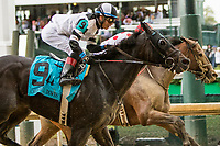 LOUISVILLE, KY - MAY 06: Limuosine Liberal with Jose Ortiz win the Churchill Downs on Kentucky Derby Day at Churchill Downs on May 6, 2017 in Louisville, Kentucky. (Photo by Sue Kawczynski/Eclipse Sportswire/Getty Images)