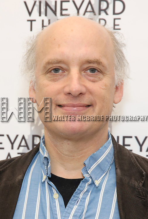 Frank Wood attends the photo call for The Vineyard Theatre production of 'Can You Forgive Her' at the New 42nd Street Studios on April 3, 2017 in New York City.