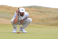 Erik Van Rooyen (RSA) on the 16th during Round 3 of the Dubai Duty Free Irish Open at Ballyliffin Golf Club, Donegal on Saturday 7th July 2018.<br /> Picture:  Thos Caffrey / Golffile