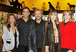 """Cast of Days Of Our Lives -  Kristian Alfonso, Galen Gering, Stephen Nichols, Lauren Koslow, Diedre Hall sign book """"Days Of Our Lives 50 Years"""" by Greg Meng - author & co-executive producer on October 27, 2015 at Books & Greetings, Northvale, New Jersey. (Photo by Sue Coflin/Max Photos)"""