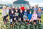 Geraldine O'Shea helped Camp Junior soccer club launch their 2019 Calendar at the Camp Sport Centre on Saturday.
