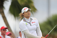 Ariya Jutanugarn (THA) in action on the 12th during Round 1 of the HSBC Womens Champions 2018 at Sentosa Golf Club on the Thursday 1st March 2018.<br /> Picture:  Thos Caffrey / www.golffile.ie<br /> <br /> All photo usage must carry mandatory copyright credit (&copy; Golffile | Thos Caffrey)