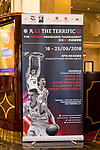 Branding of The Asia League's 'The Terrific 12' at Studio City Event Center on 22 September 2018, in Macau, Macau. Photo by Yu Chun Christopher Wong / Power Sport Images for Asia League