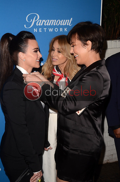 """Kyle Richards, Faye Resnick, Kris Jenner<br /> at the """"American Woman"""" Premiere Party, Chateau Marmont, Los Angeles, CA 05-31-18<br /> David Edwards/DailyCeleb.com 818-249-4998"""