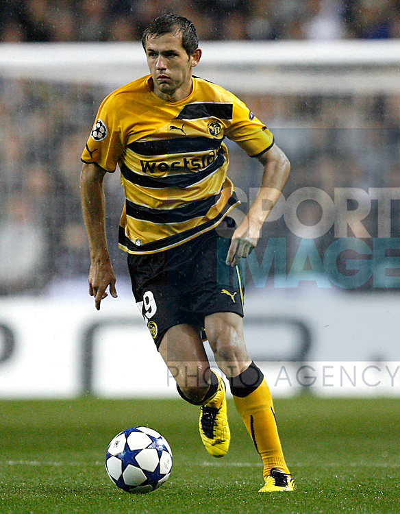Senad Lulic of Young Boys in action