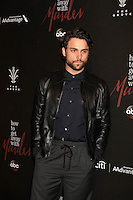 Jack Falahee<br /> at the &quot;How To Get Away With Murder&quot; Season 3 Premiere Screening, Pacific Theater at The Grove, Los Angeles, CA 09-20-16<br /> David Edwards/DailyCeleb.com 818-249-4998